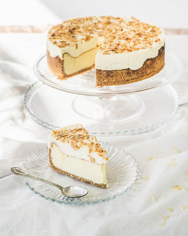 Ciasto sernik z białą czekoladą
