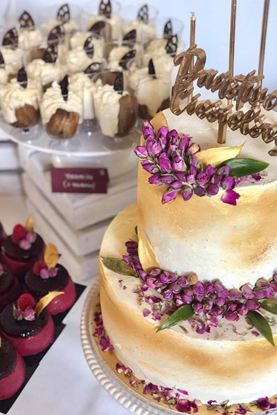 Słodki stół ślubny