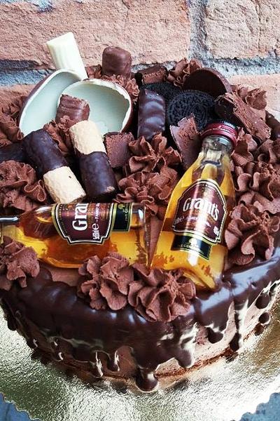 Tort czekoladowy z whisky