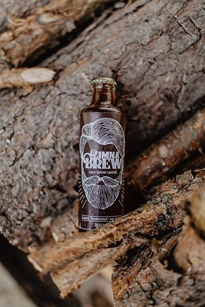 Cold brew wśród drzew